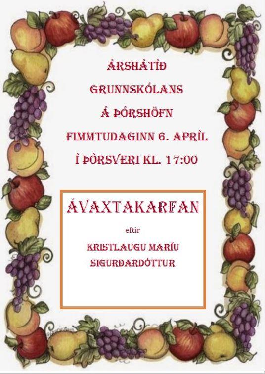 Árshátíð auglýsing